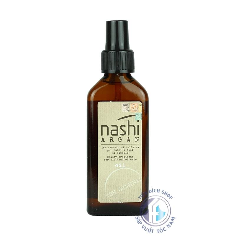 Tinh dầu dưỡng tóc nhập khẩu Nashi Argan 100ml Ý