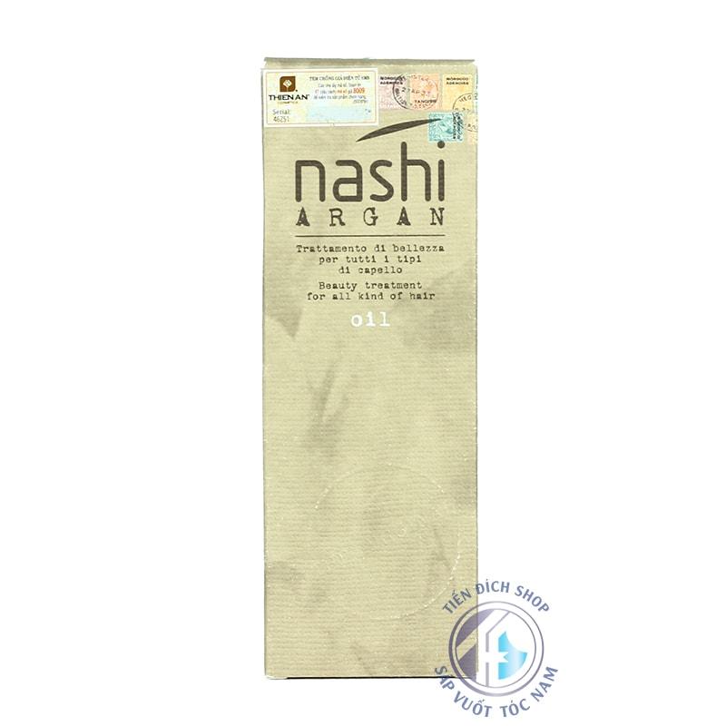 Tinh dầu dưỡng tóc chính hãng Nashi Argan 100ml