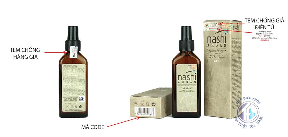 Tinh dầu dưỡng tóc Nashi Argan 100ml Ý cao cấp