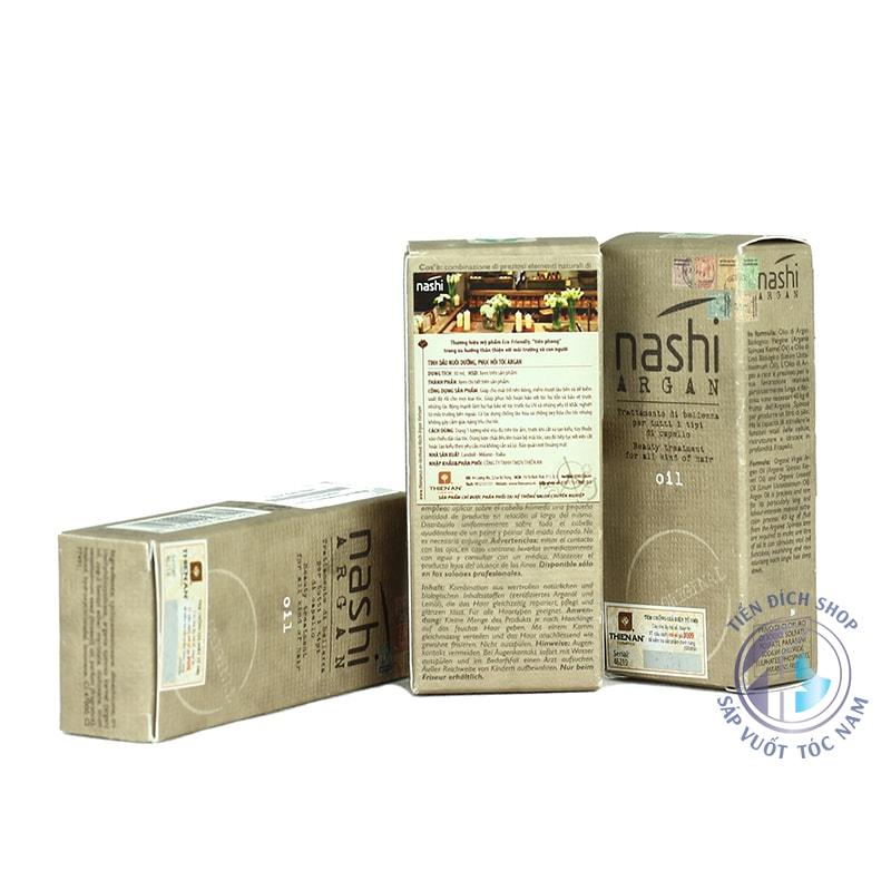 Tinh dầu dưỡng tóc phục hồi Nashi Argan 30ml