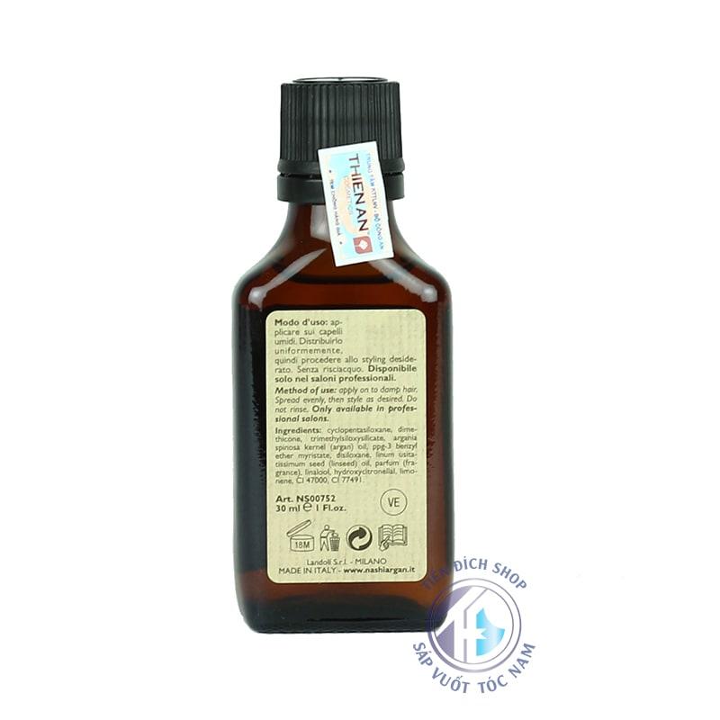 Tinh dầu dưỡng tóc phục hồi Nashi Argan 30ml chính hãng
