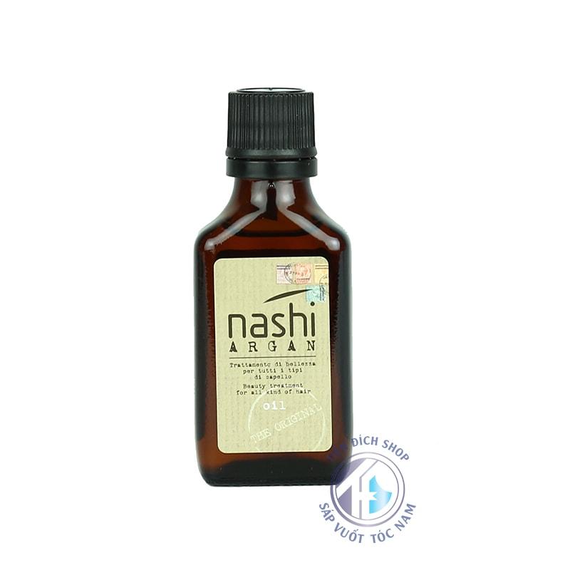 Tinh dầu dưỡng tóc phục hồi Nashi Argan 30ml Ý