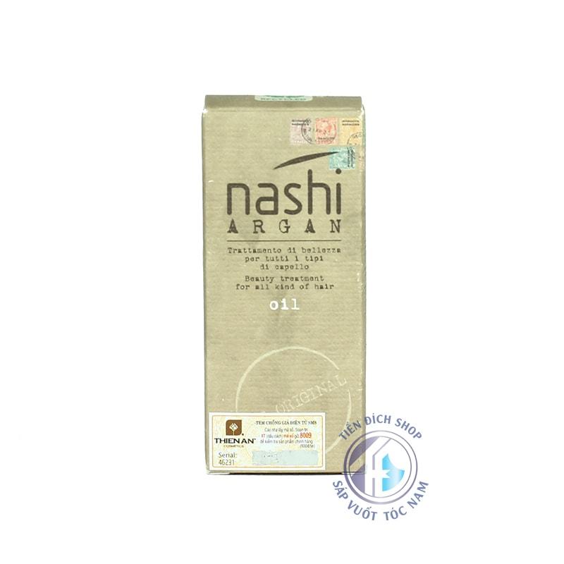 Tinh dầu dưỡng tóc chính hãng Nashi Argan 30ml