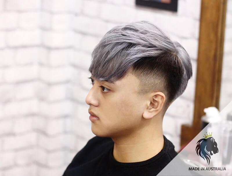 tóc nam đẹp nhuộm 2020