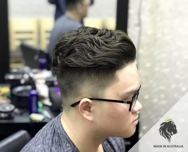 tóc nam uốn 2020