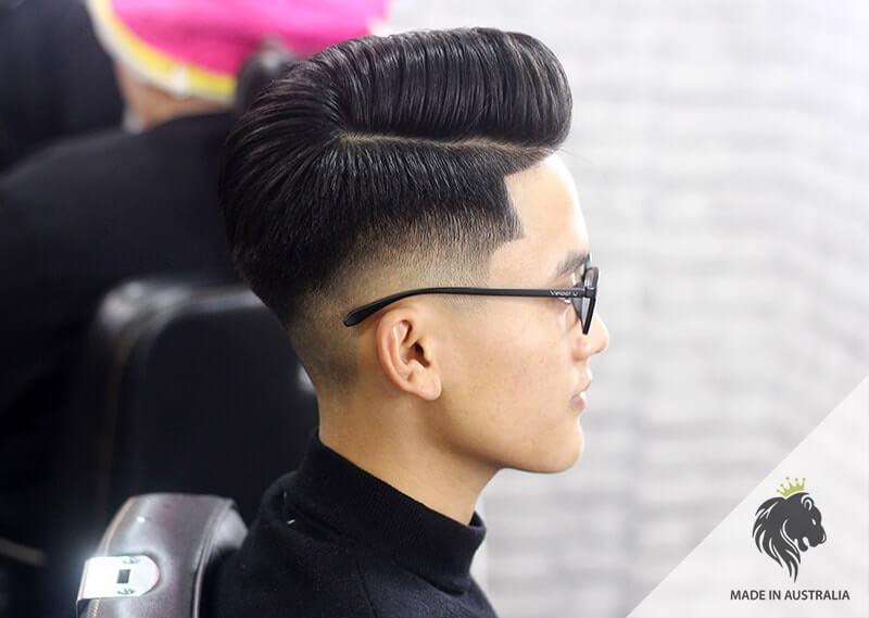 Kiểu tóc vuốt ngược 2020