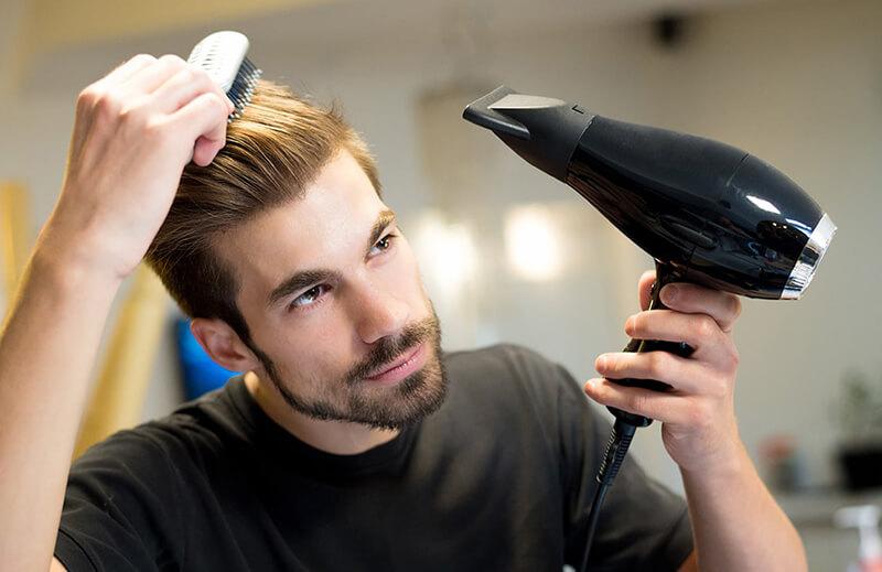 dưỡng tóc nam tại nhà