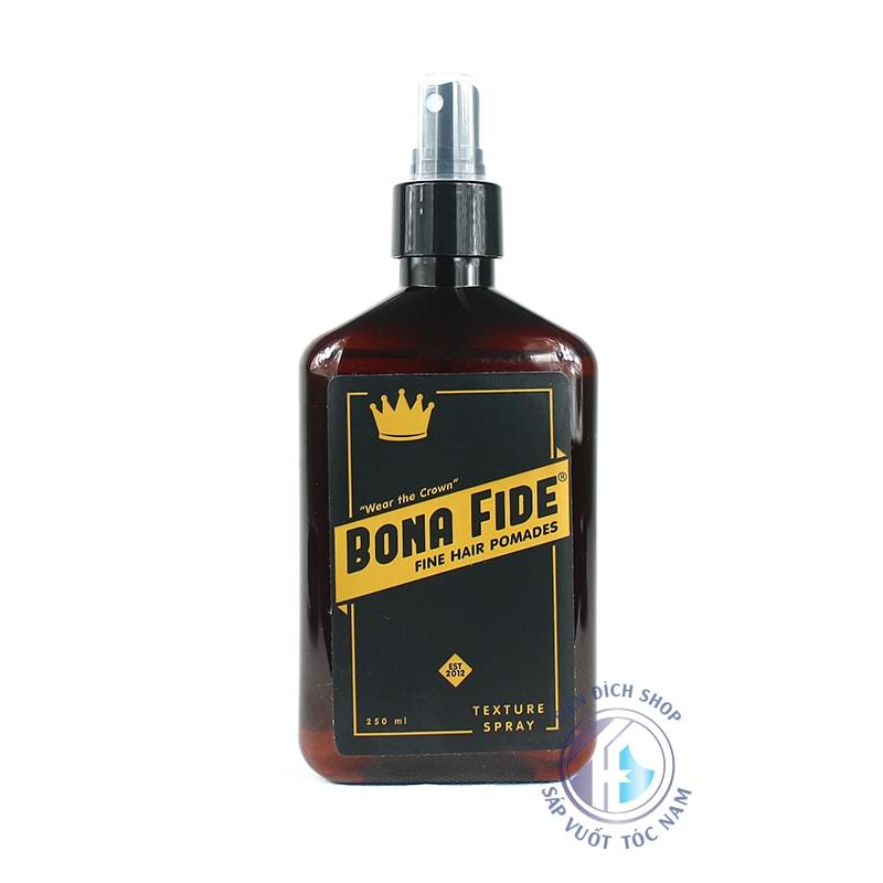 Bona Fide Texture Spray chai xịt dưỡng cao cấp