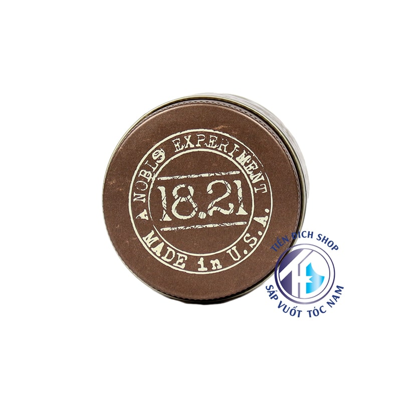 sáp vuốt tóc 18.21 Man Made Wax - Sweet Tobacco