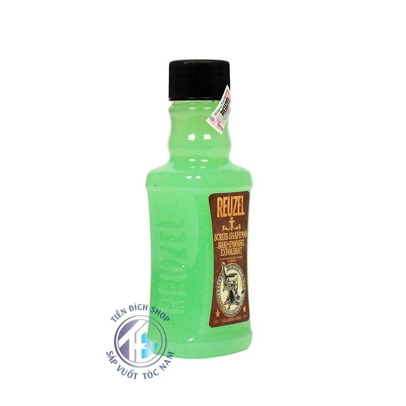 Reuzel Scrub Shampoo Shampooing Exfoliant 100ml