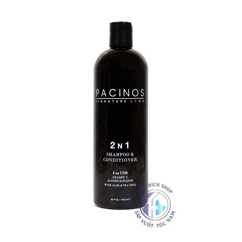 Dầu gội xả Pacinos 2 N 1 Shampoo & Conditioner 473ml