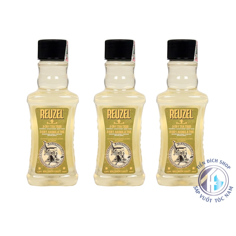 reuzel 3 in 1 tea tree 100ml