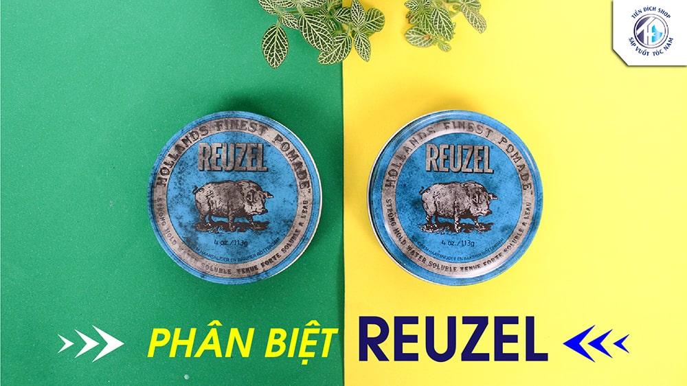 Phân biệt Reuzel Pomade fake and real – Reuzel Blue thật và giả trên thị trường