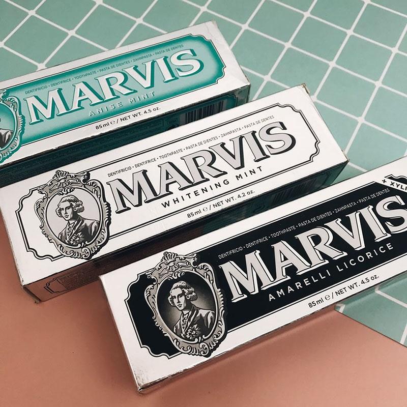 review Kem đánh răng Marvis