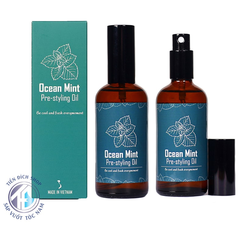 xịt tạo phồng Ocean Mint Pre Styling Oil