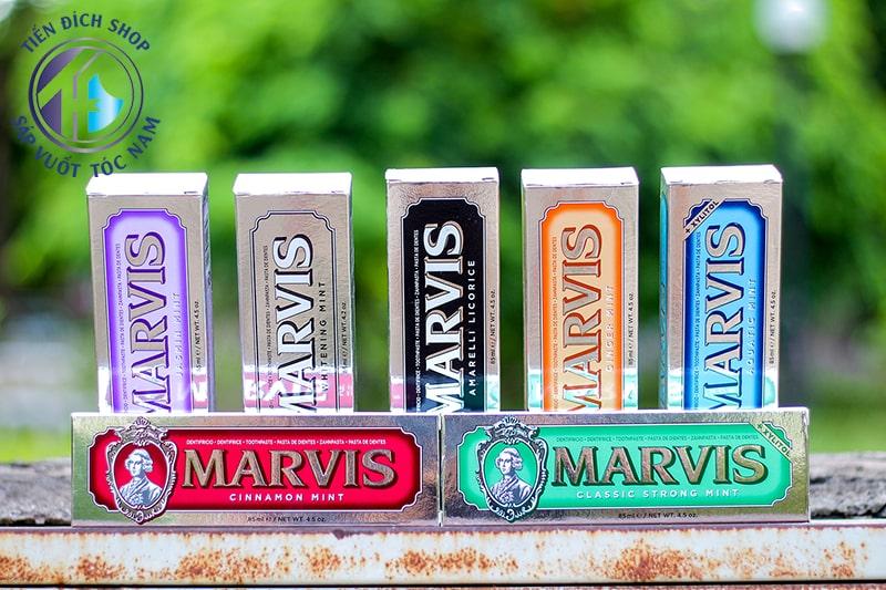 review kem đánh răng Marvis cao cấp