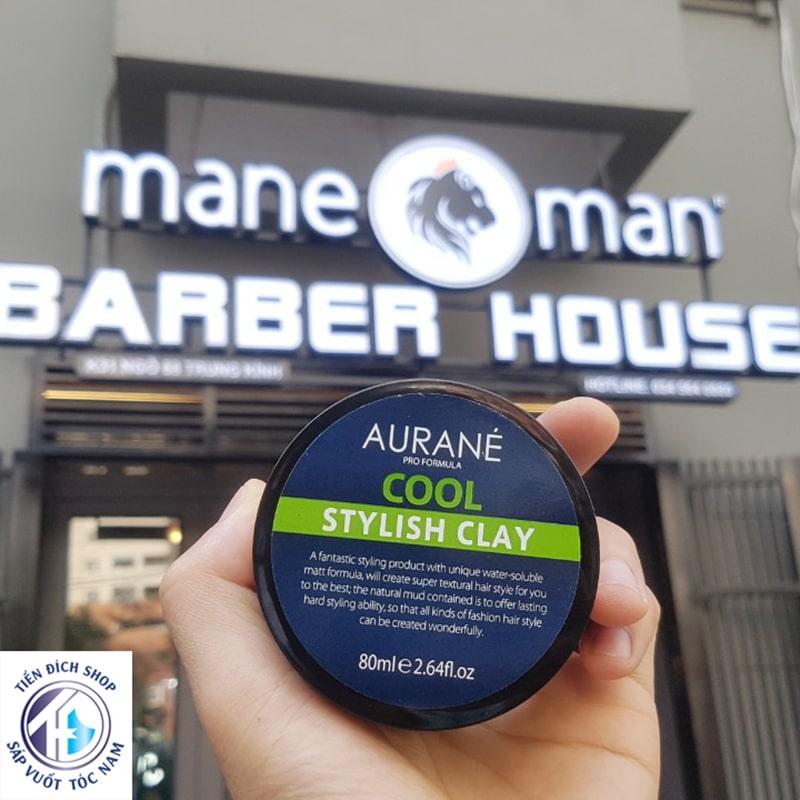 Sáp vuốt tóc giá rẻ Aurane Cool Stylish Clay 80ml