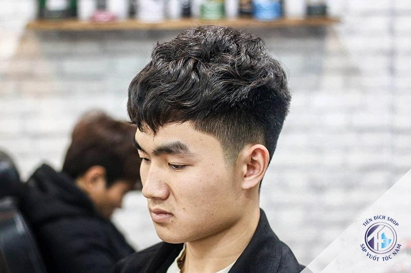 Kiểu tóc đẹp Hàn Quốc Textured