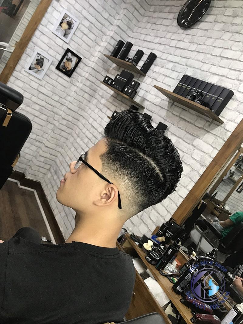 tóc pompadour hàn quốc