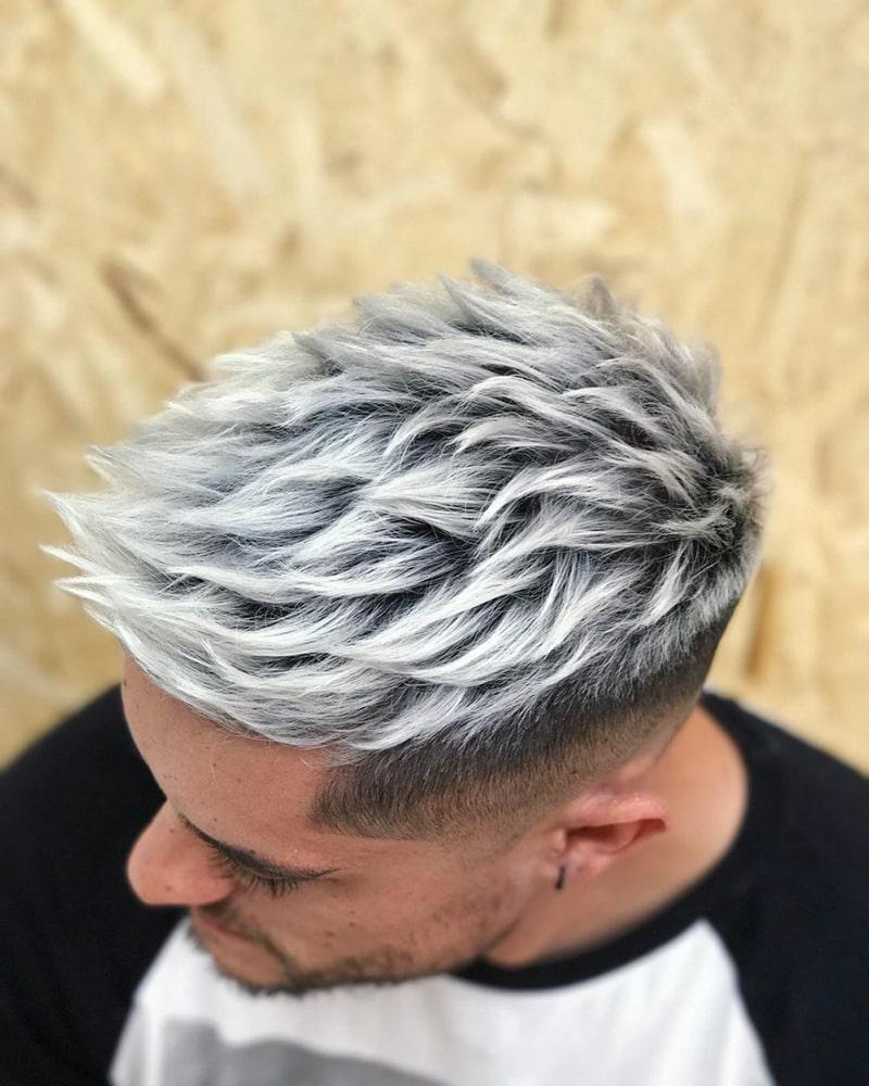 tóc nam nhuộm Hàn Quốc