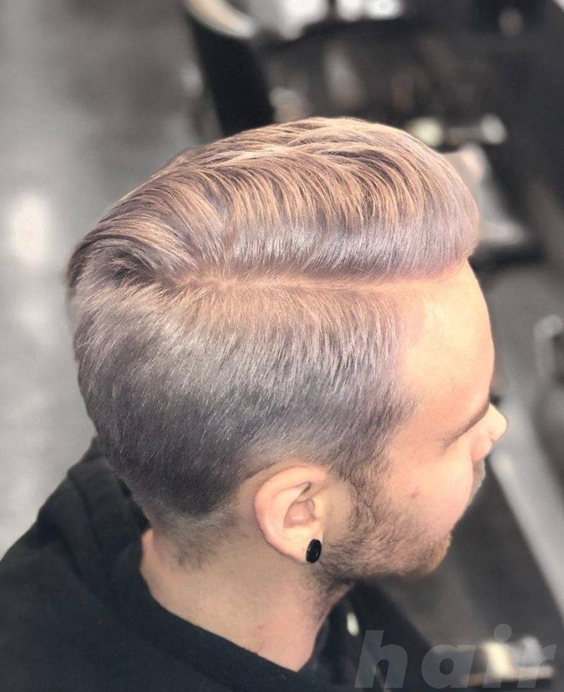 tóc nam màu khói hàn quốc
