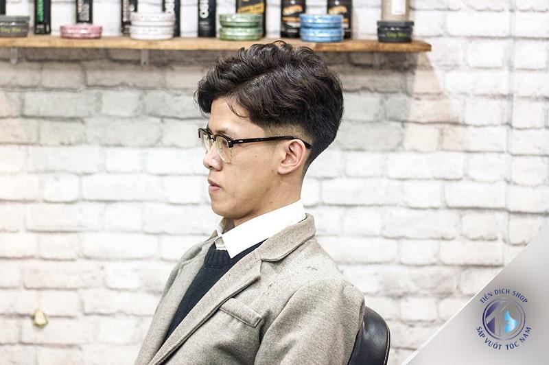 Tóc nam xoăn Hàn Quốc 2020