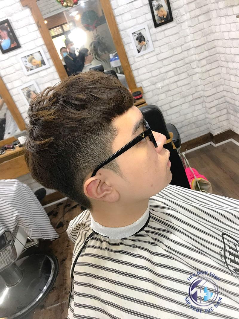 kiểu tóc nam Hàn Quốc ngắn đẹp