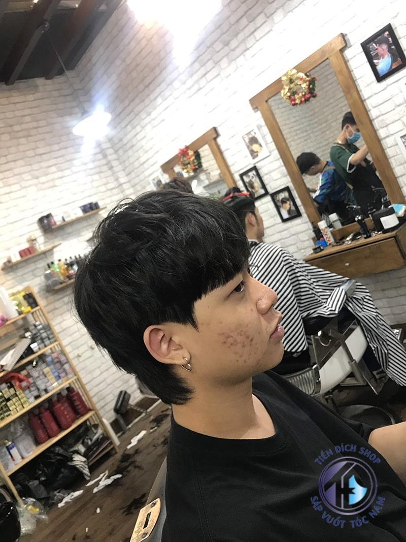 Tóc nam Hàn Quốc đẹp - Kiểu tóc dài