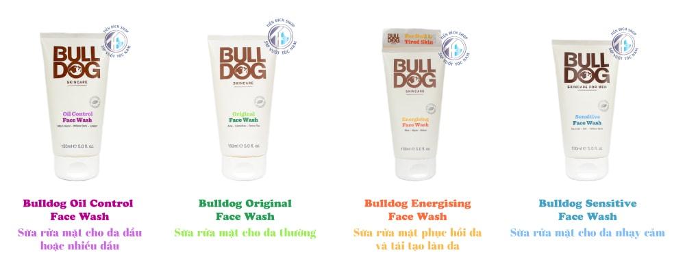 Sữa Rửa Mặt Bulldog 150ml