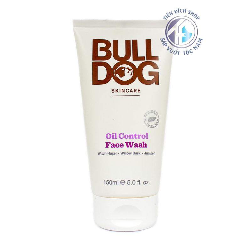 Sữa rửa mặt cho nam Bulldog Oil Control Face Wash