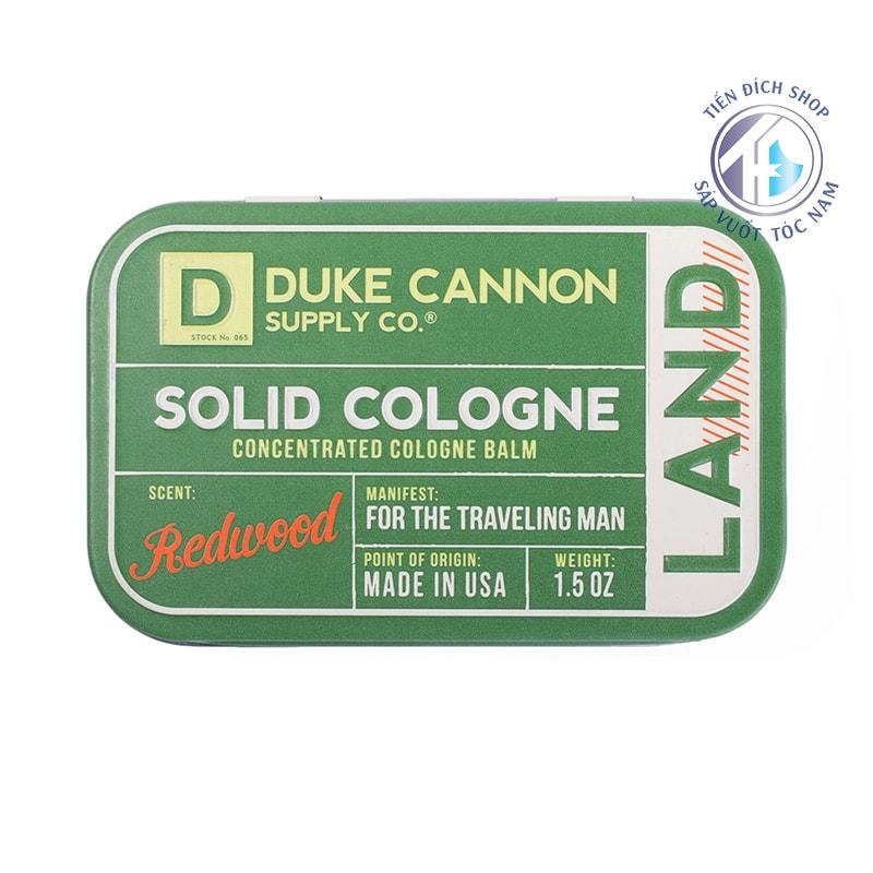 Nước hoa khô Duke Cannon Land Redwood