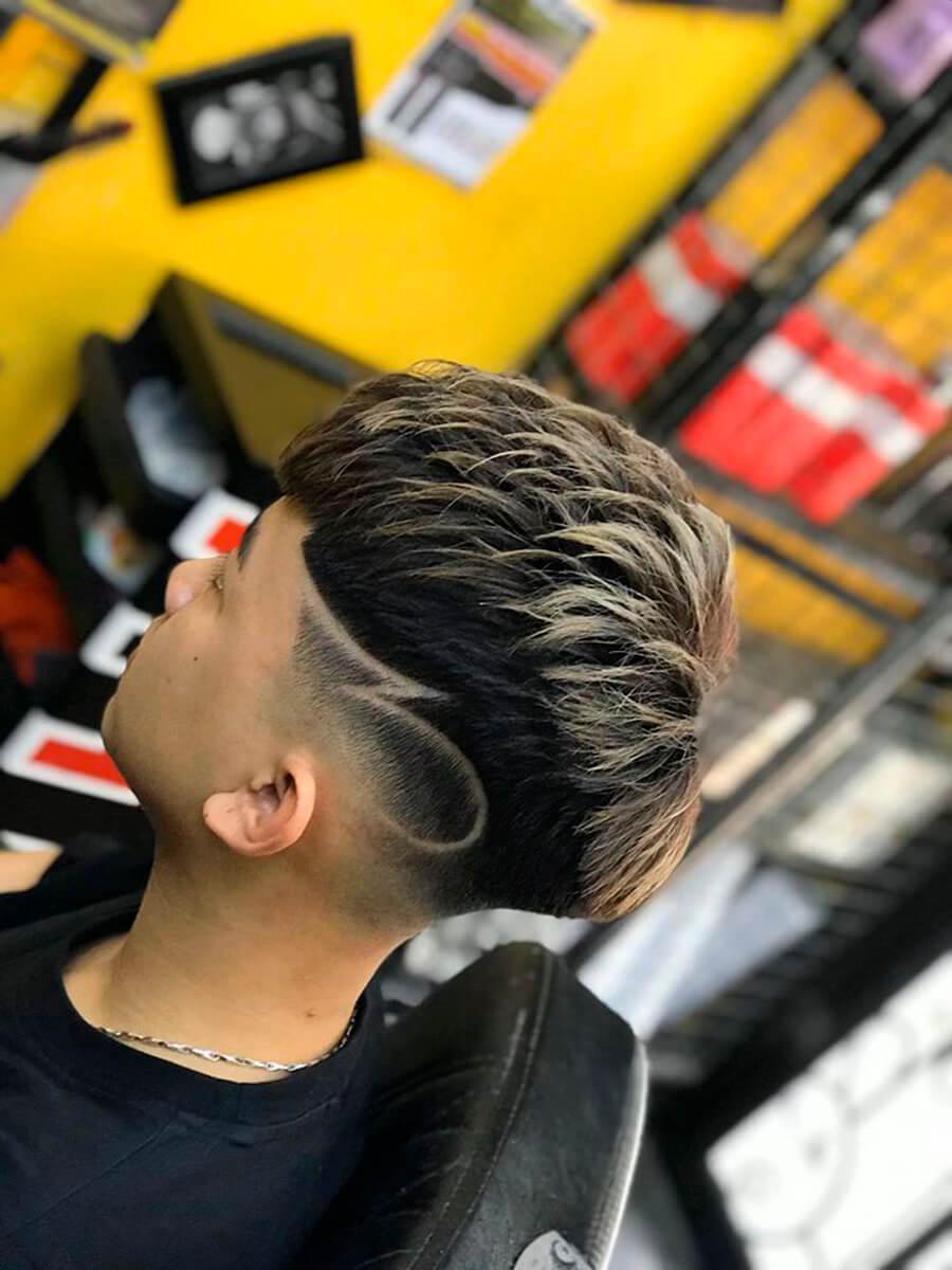 Kiểu tóc Mohican uốn lạnh 2020
