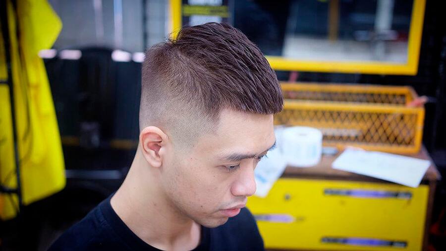 Kiểu tóc nam Mohican 2020 nhuộm
