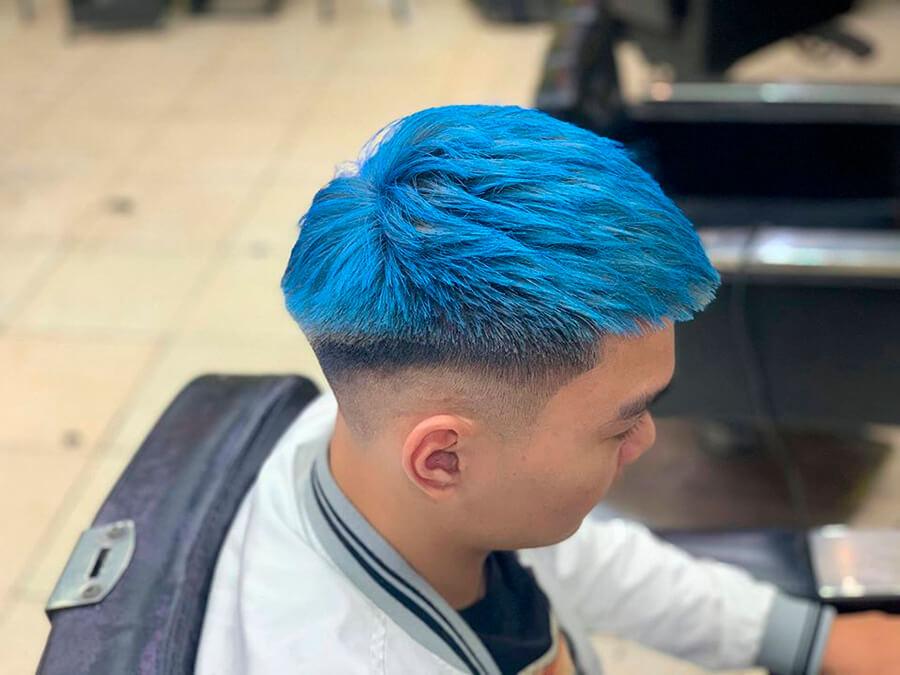 Mẫu tóc Mohican mái ngắn 2020