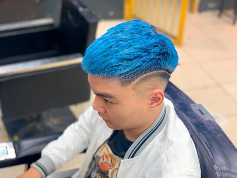 Mẫu tóc Mohican mái ngắn 2020 đẹp
