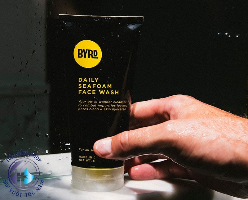 sữa rửa mặt Byrd Daily Seafoam Face Wash