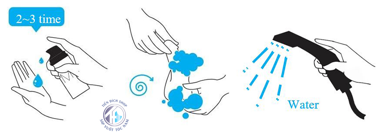 Hướng dẫn sử dụng MdoC Pride Care & Strong Wash