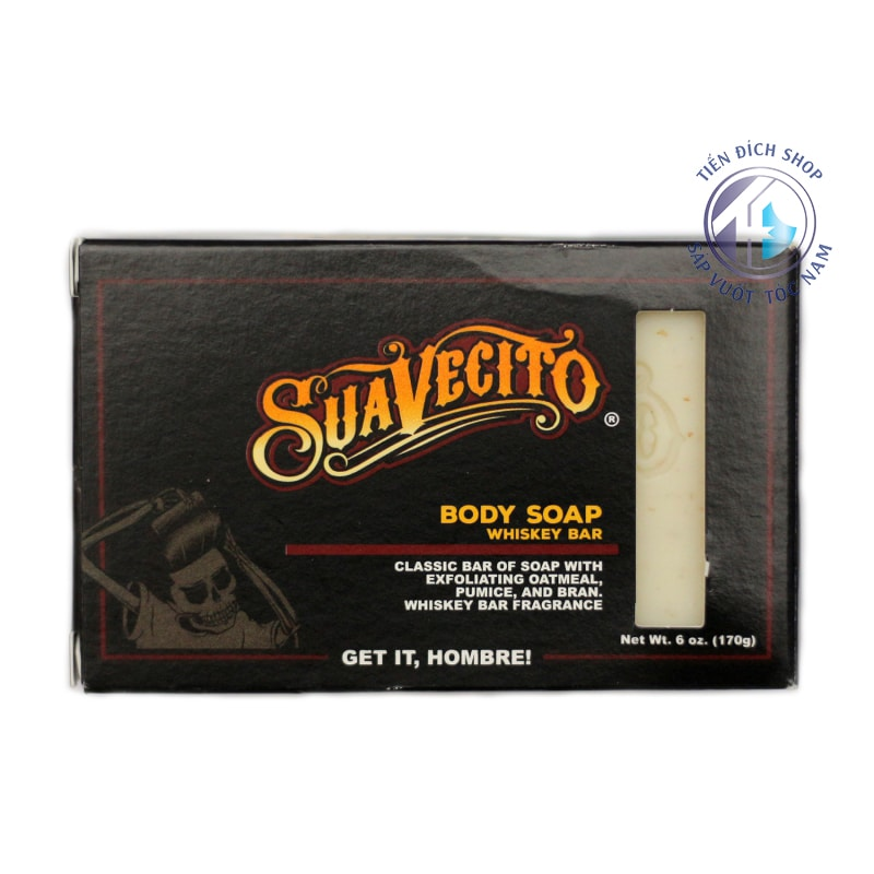 Suavecito Body Soap – Whiskey Bar