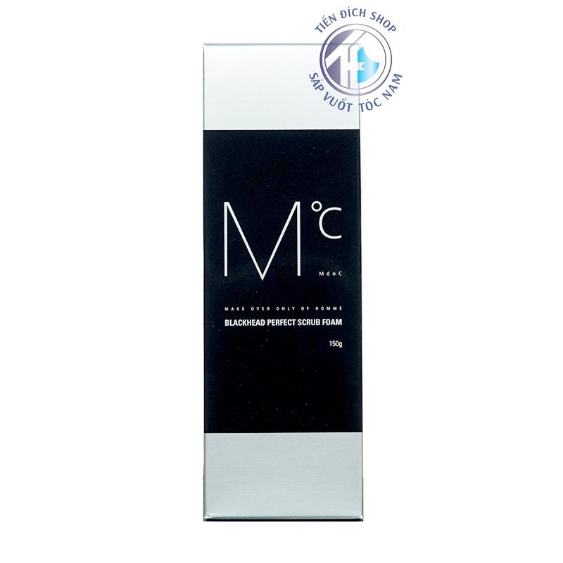 Sữa rửa mặt nam MdoC Blackhead Perfect Scrub Foam 150g