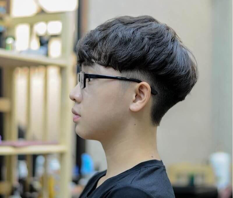 Kiểu tóc moi mái ngố