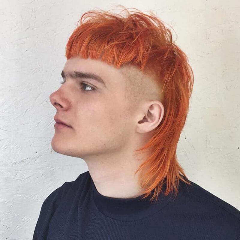 tóc moi để gáy