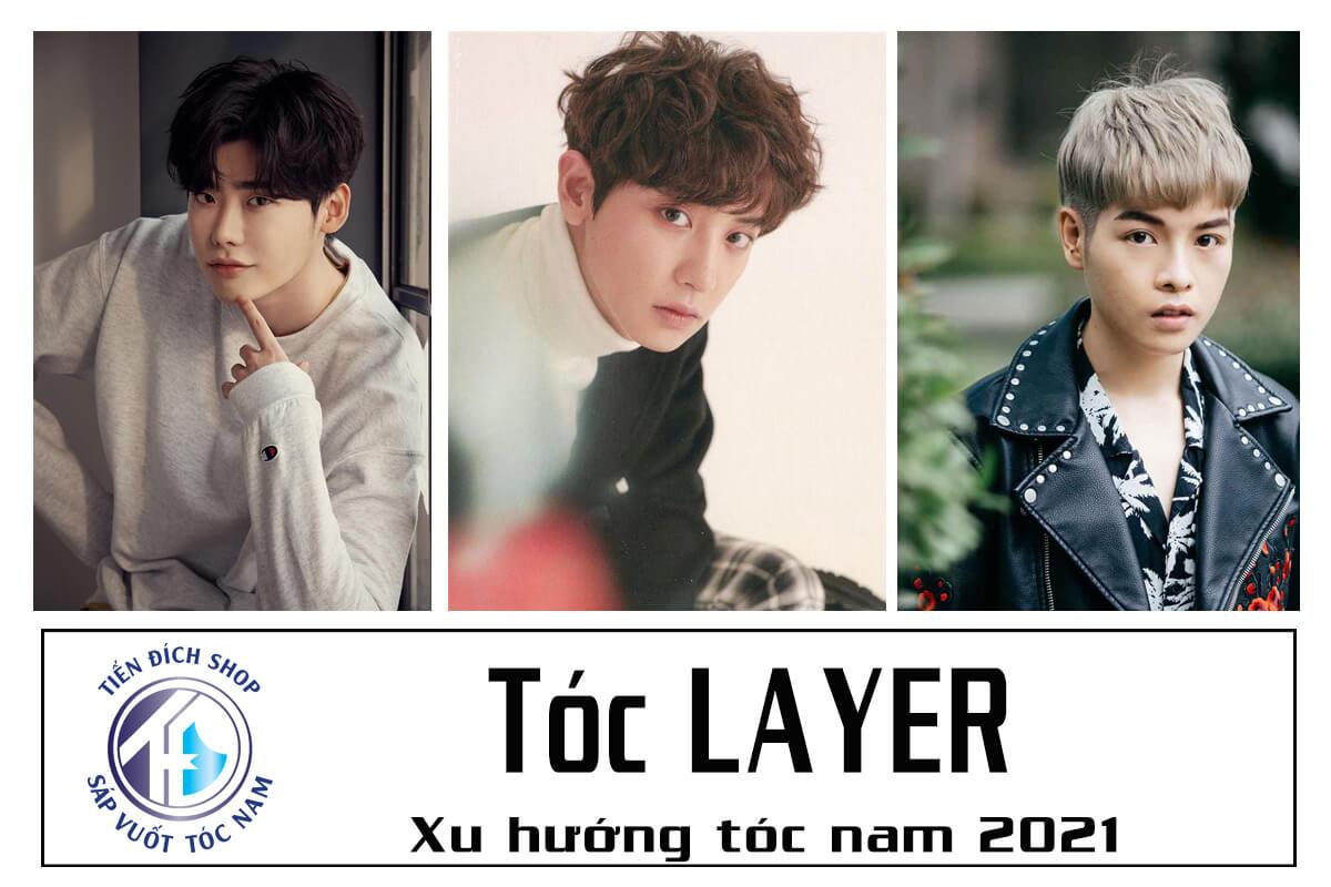[TOP] Kiểu tóc Layer nam | Xu hướng tóc nam đẹp 2021 | Layer Haircut