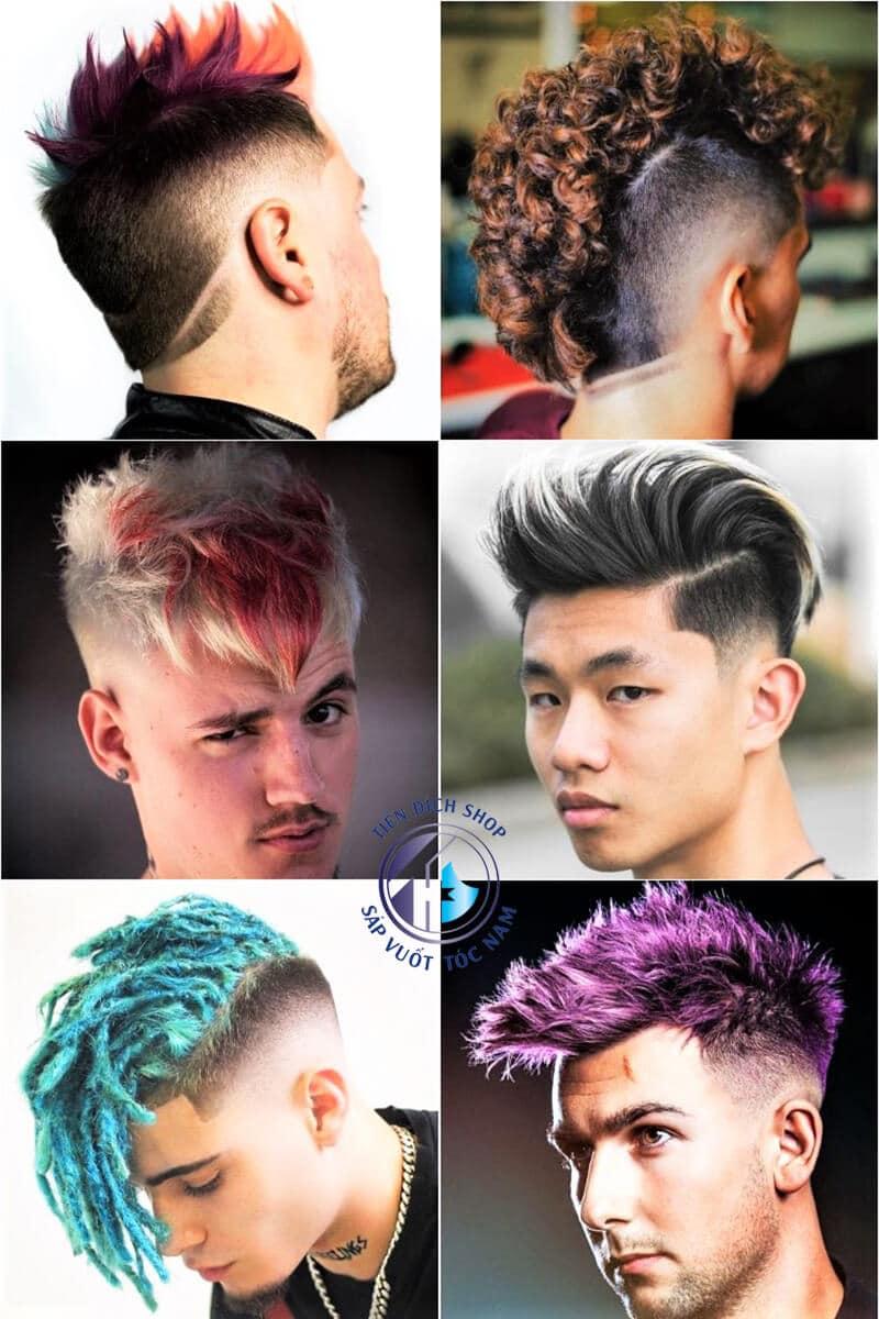 Nhuộm tóc nam High Light
