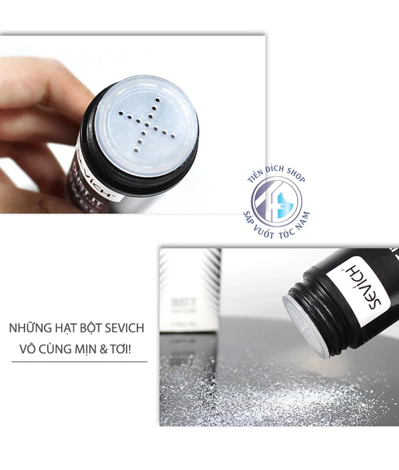 bột tạo phồng Sevich Dust It Texture