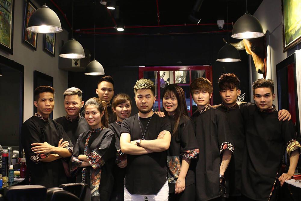 Dạy cắt tóc nam Hà Nội - Minh Thu Barber