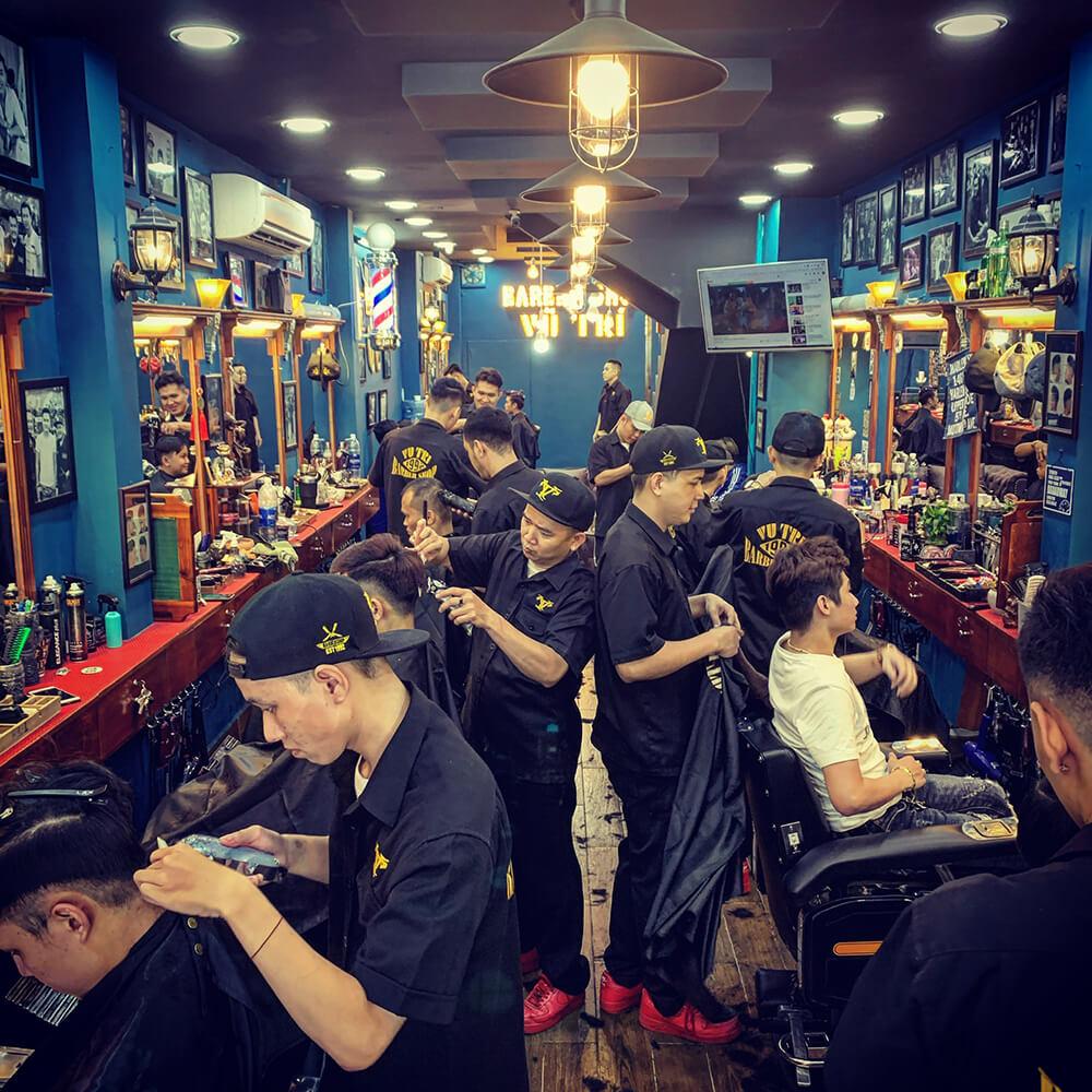 Dạy cắt tóc barber Sài Gòn tại Vũ Trí Barber