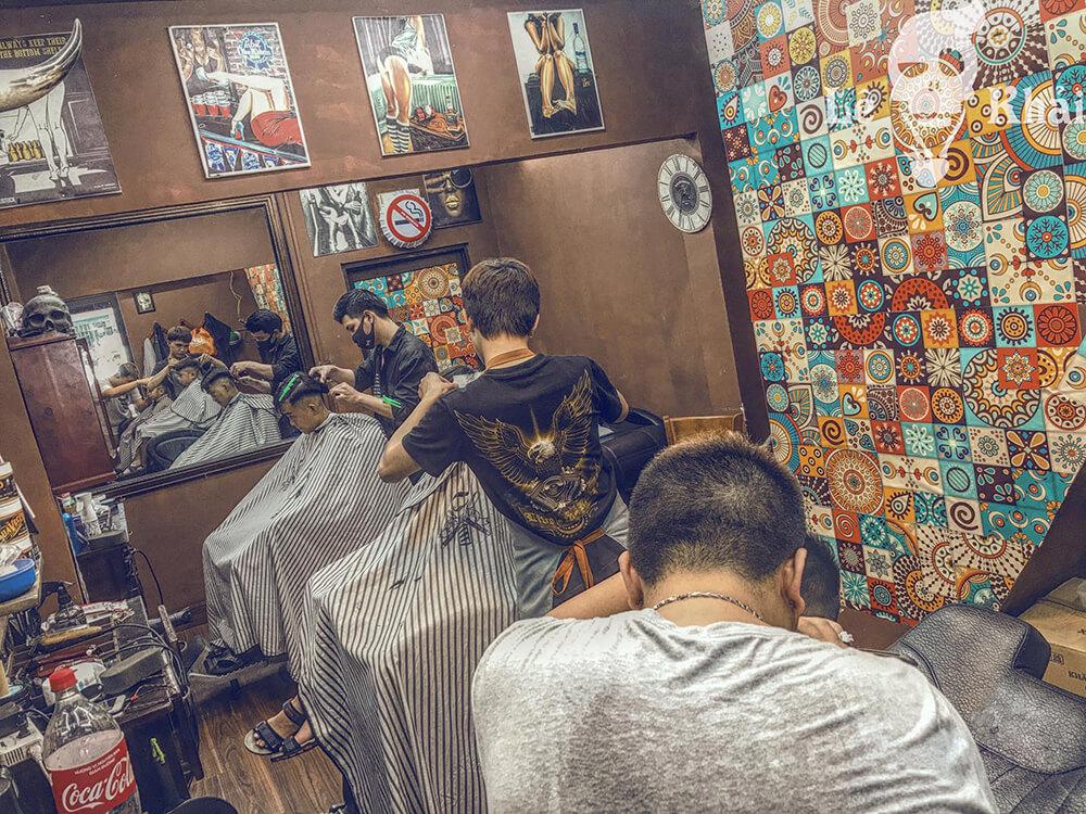 Đào tạo cắt tóc barber Lê Khải