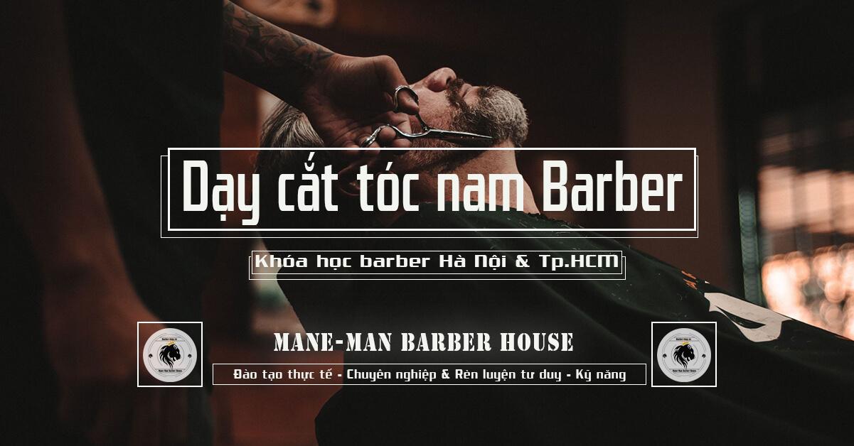 Dạy cắt tóc nam barber