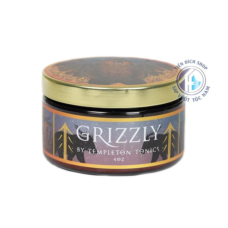 Sáp Oasis Clay Grizzly Matte Paste