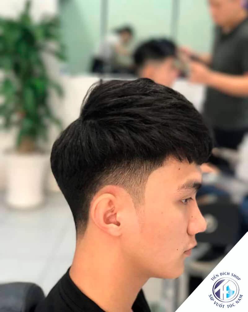 kiểu tóc nam Mohican 2021